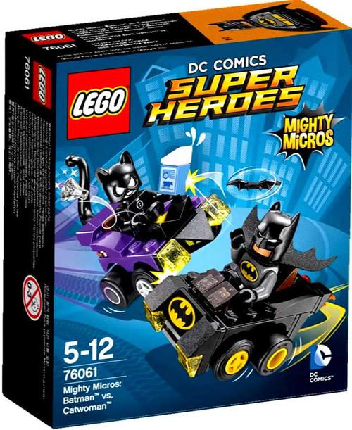 LEGO DC Super Heroes Mighty Micros Batman vs. Catwoman Set #76061