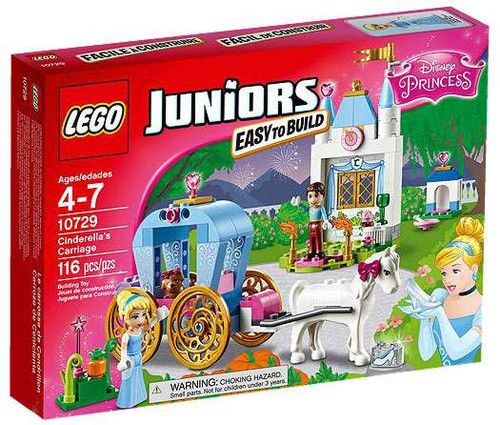 LEGO Disney Princess Juniors Cinderella's Carriage Set #10729