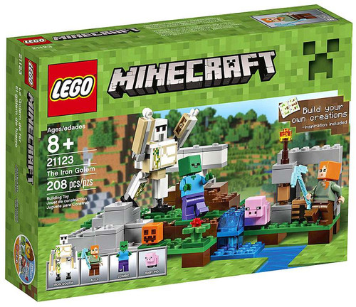 LEGO Minecraft The Iron Golem Set #21123