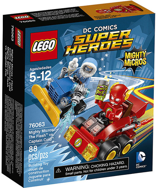 LEGO DC Super Heroes Mighty Micros Flash vs. Captain Cold Set #76063