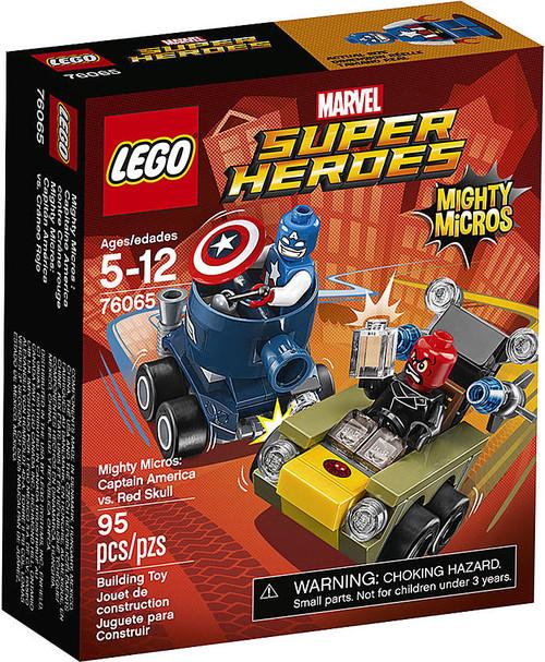 LEGO Marvel Super Heroes Mighty Micros Captain America vs. Red Skull Set #76065