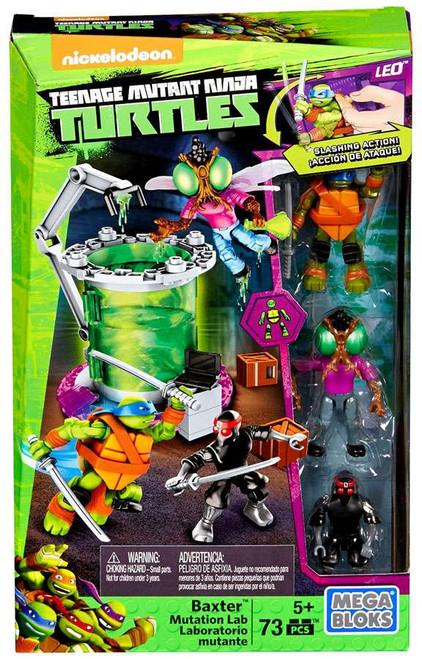 Mega Bloks Teenage Mutant Ninja Turtles Animation Baxter Mutation Lab Set #29034