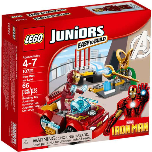 LEGO Juniors Iron Man vs. Loki Set #10721