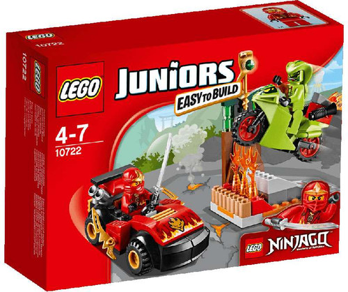 LEGO Ninjago Juniors Snake Showdown Set #10722