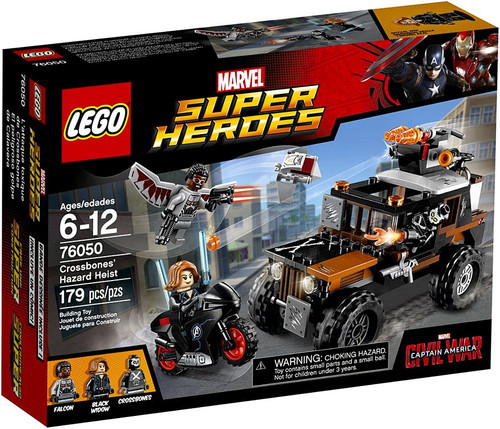 LEGO Marvel Super Heroes Captain America: Civil War Crossbones Hazard Heist Set #76050