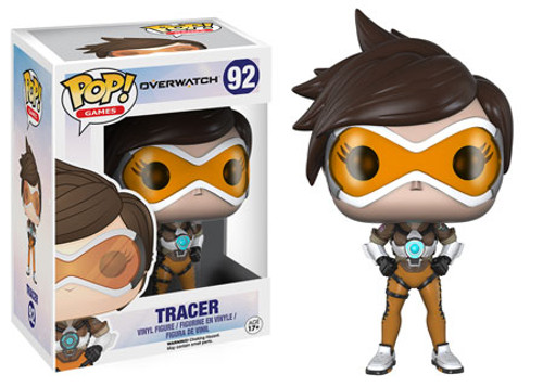 Funko Blizzard Overwatch POP! Games Tracer Vinyl Figure #92