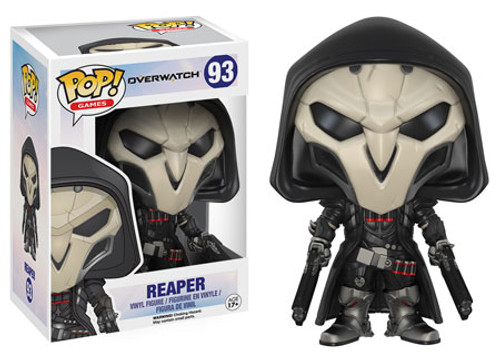 Funko Blizzard Overwatch POP! Games Reaper Vinyl Figure #93