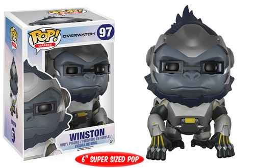 Funko Blizzard Overwatch POP! Games Winston 6-Inch Vinyl Figure #97 [Super-Sized]