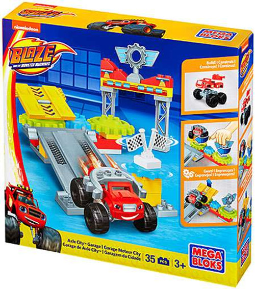 Mega Bloks Blaze & the Monster Machines Axle City Garage Set #31737