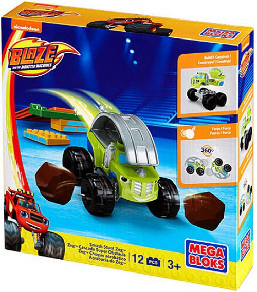 Mega Bloks Blaze & the Monster Machines Smash Stunt Zeg Set #31738