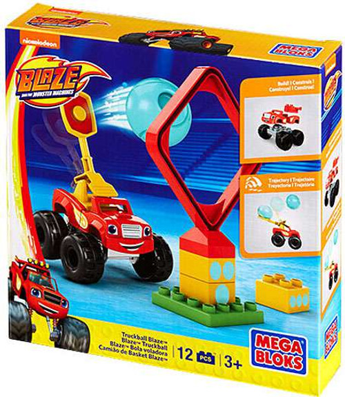 Mega Bloks Blaze & the Monster Machines Truckball Blaze Set #31741