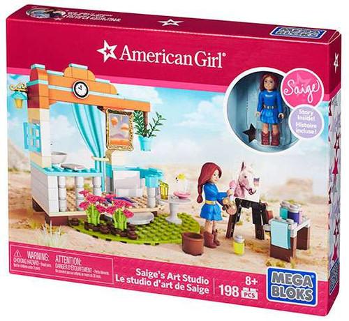 Mega Bloks American Girl Saige's Art Studio Set #31929