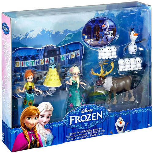 Disney Frozen Frozen Fever Birthday Party Figure Set