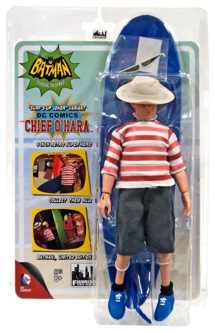 DC World's Greatest Heroes! Surfing Series Chief O'Hara Retro Action Figure