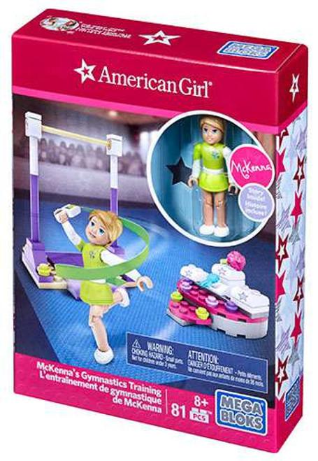 Mega Bloks American Girl McKenna's Gymnastics Training Set #31923