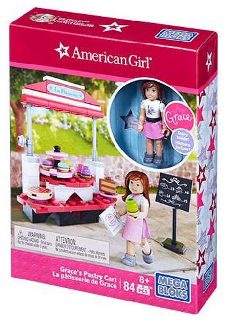 Mega Bloks American Girl Grace's Pastry Cart Set #31925
