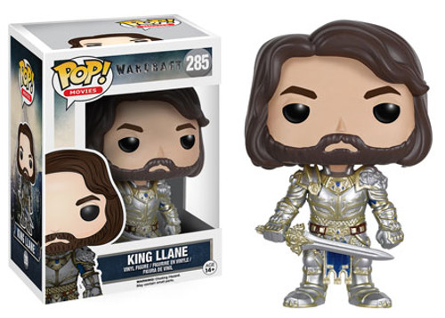 Funko Warcraft POP! Movies King Llane Vinyl Figure #285
