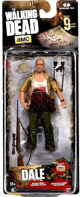 McFarlane Toys The Walking Dead AMC TV Series 9 Dale Exclusive Action Figure [Death Scene]