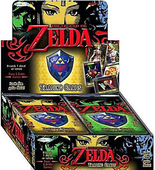 The Legend of Zelda Trading Card Box [24 Packs]