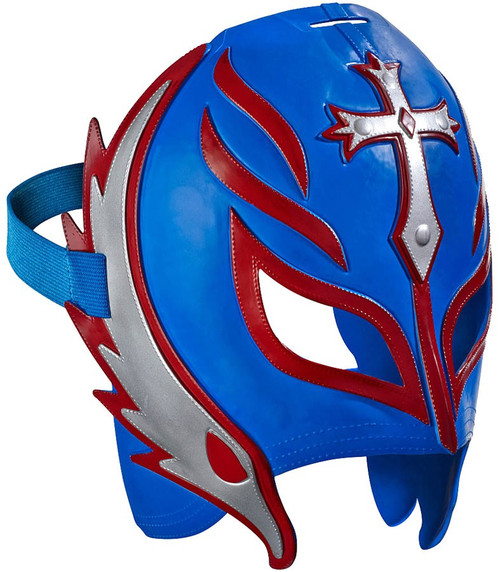 WWE Wrestling Costumes Rey Mysterio Replica Mask [Blue & Red]