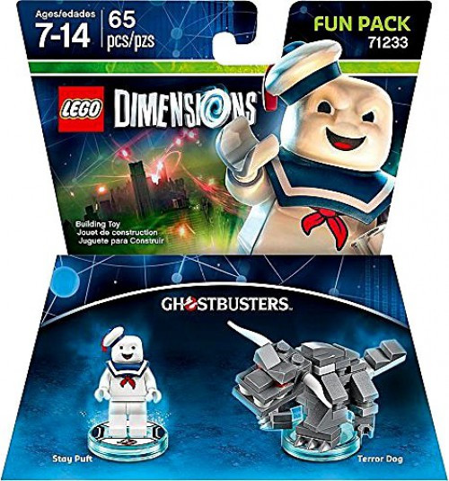 LEGO Dimensions Ghostbusters Stay Puft & Terror Dog Fun Pack #71233