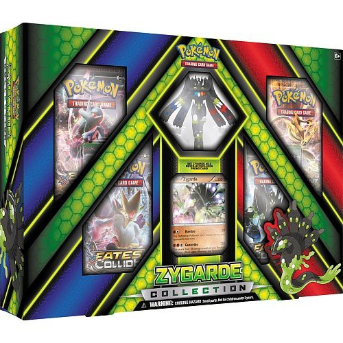 Pokemon Trading Card Game XY Zygarde Collection [4 Booster Packs, Promo Card & Figure]