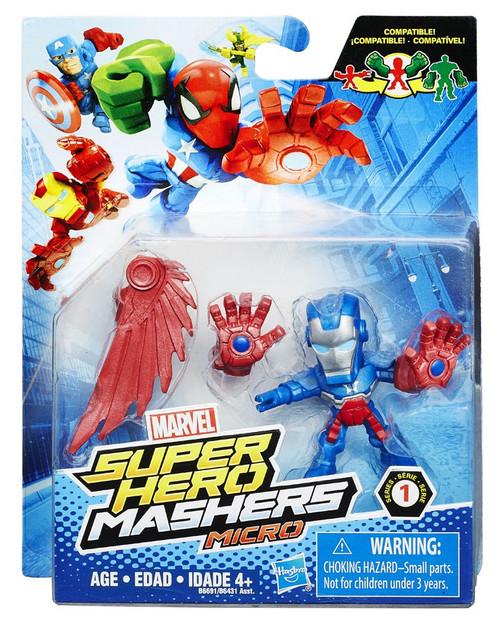 Marvel Super Hero Mashers Micro Series 1 Iron Patriot 2-Inch Mini Figure