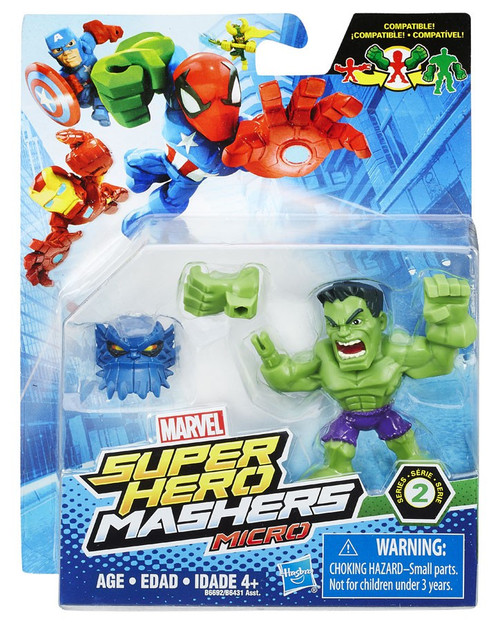 Marvel Super Hero Mashers Micro Series 2 Hulk 2-Inch Mini Figure