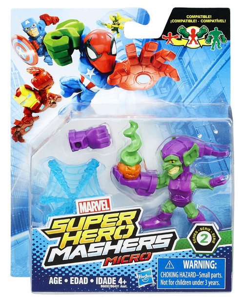 Marvel Super Hero Mashers Micro Series 2 Green Goblin 2-Inch Mini Figure