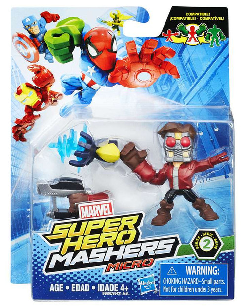 Marvel Super Hero Mashers Micro Series 2 Star Lord 2-Inch Mini Figure