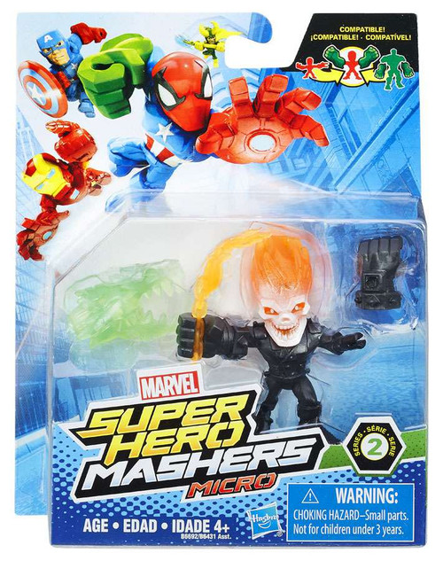 Marvel Super Hero Mashers Micro Series 2 Ghost Rider 2-Inch Mini Figure