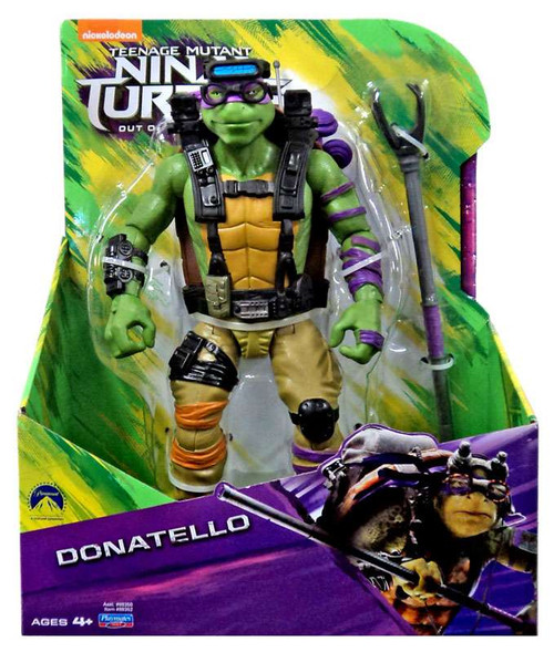 Teenage Mutant Ninja Turtles Out of the Shadows Donatello Action Figure [11 Inch]