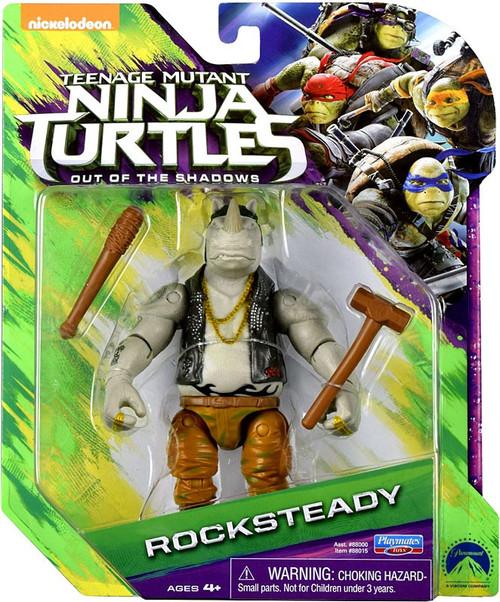 Teenage Mutant Ninja Turtles Out of the Shadows Rocksteady Action Figure