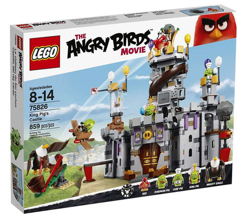 LEGO Angry Birds Movie King Pig's Castle Set #75826