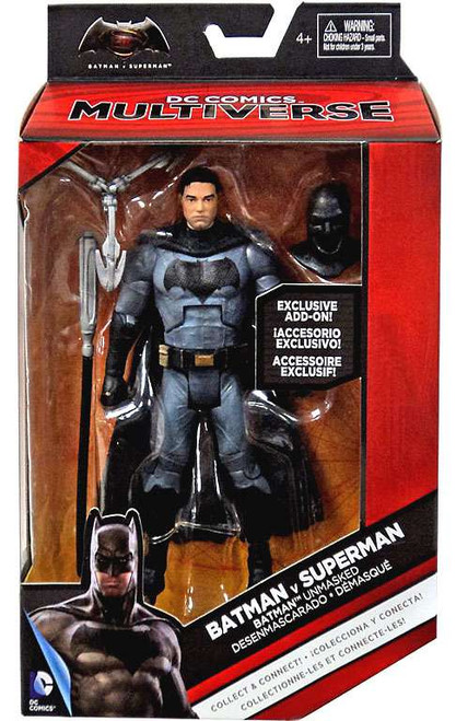 DC Batman v Superman: Dawn of Justice Multiverse Grapnel Blaster Series Batman Unmasked Exclusive Action Figure