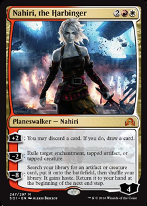 MtG Shadows Over Innistrad Mythic Rare Nahiri, the Harbinger #247