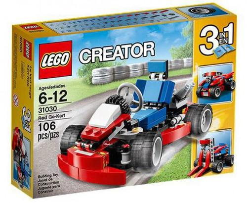 LEGO Creator Red Go-Kart Set #31030 [Damaged Package]