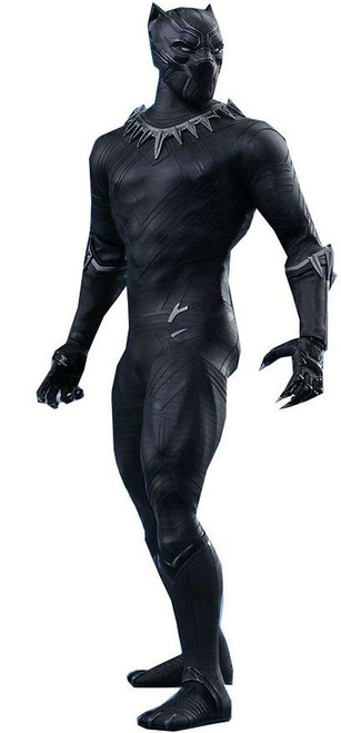 Marvel Civil War Movie Masterpiece Black Panther Collectible Figure [Civil War]