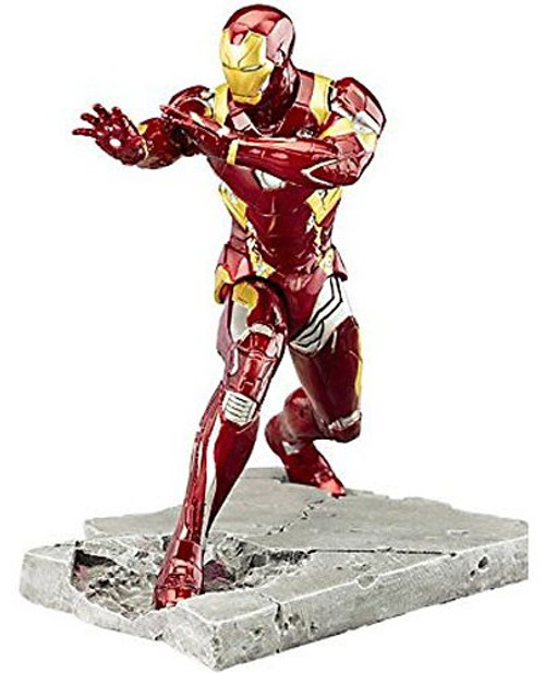 Marvel Civil War ArtFX+ Iron Man Mark XLVI Statue