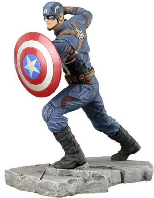 Marvel Civil War ArtFX+ Captain America Statue