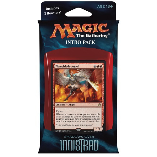 MtG Trading Card Game Shadows Over Innistrad Angelic Fury Intro Deck