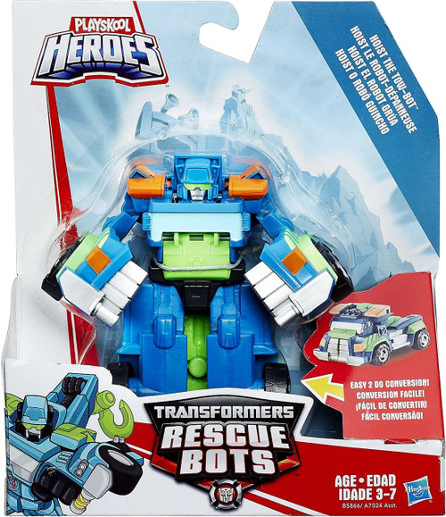 Transformers Playskool Heroes Rescue Bots Hoist the Tow Bot Action Figure [Rescan 2016]