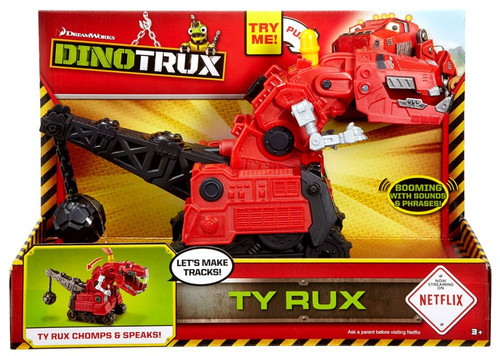 Dinotrux Ty Rux Deluxe Figure [with Sound, 2016]