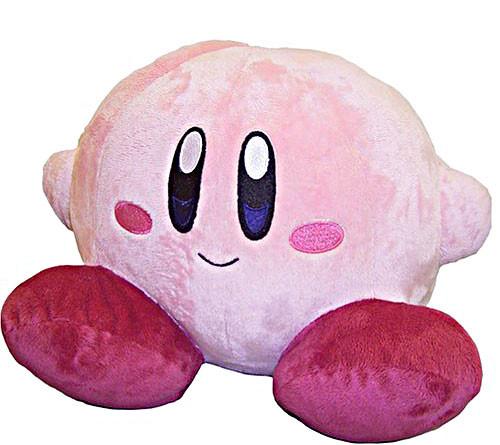 Kirby's Adventure Kirby 6-Inch Plush [Sitting]
