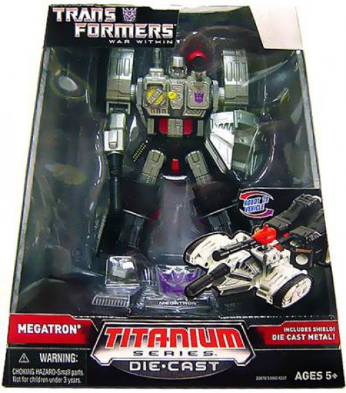 "Transformers War Within TItanium Series Megatron 6-Inch 6"" Diecast Figure"