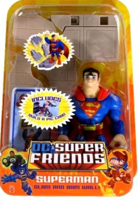 DC Super Friends Superman Action Figure [Slam and Bam]