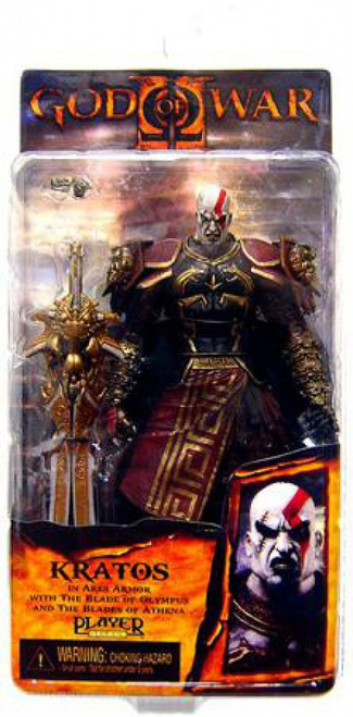 NECA God of War 2 Series 1 Kratos Action Figure [Ares Armor, Version 2]