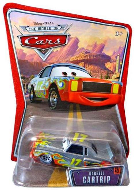 Disney / Pixar Cars The World of Cars Series 1 Darrell Cartrip Diecast Car