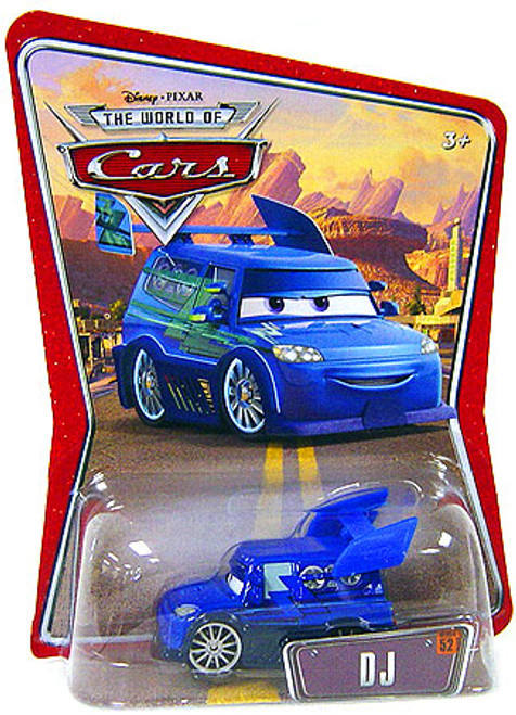 Disney / Pixar Cars The World of Cars DJ Diecast Car