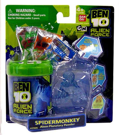 Ben 10 Alien Force Spidermonkey Alien Planetary Powder